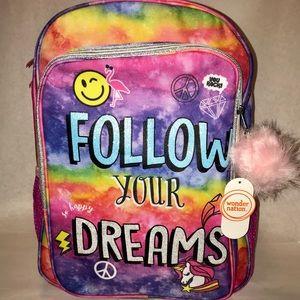 Emoji/Rainbow/Unicorn Backpack